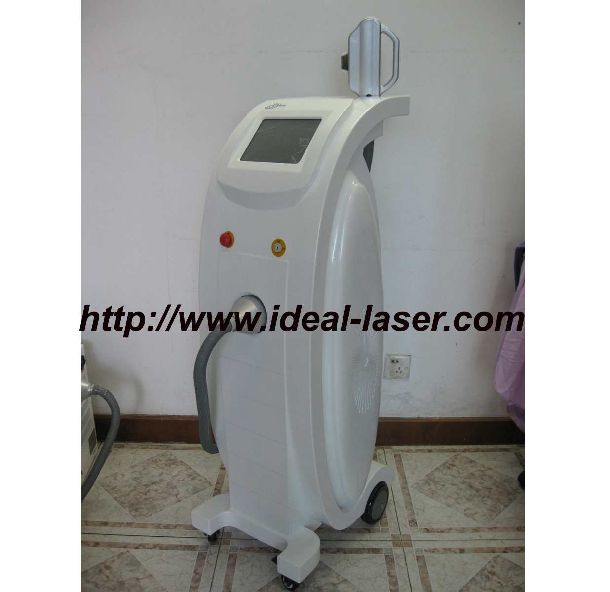 Elight laser with IPL+RF beauty machine for hair removal and skin rejuvenation