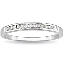 10k white gold diamond wedding band ring,10k white gold jewelry