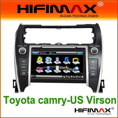 8'' Car DVD GPS for Toyota Camry 2012 (USA version)