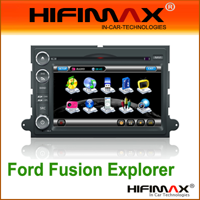 7 inch Car DVD GPS for Ford Fusion Explorer Expedition F150 EDGE Mustang