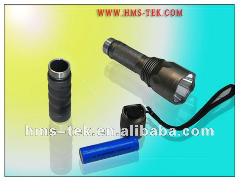 A suit CREE-Q4 rechargeable army torch light