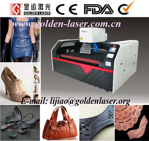 Synthetic PU Leather Cutting Machine Laser