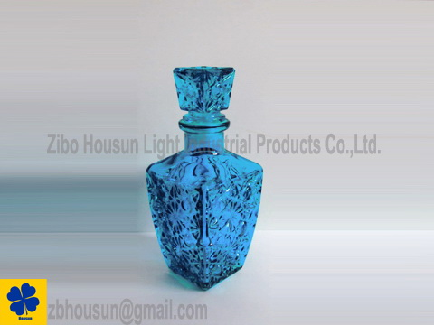 Sprayed Color Glass Decanter Glass Bottle