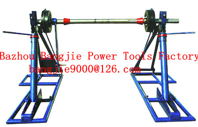 cable pay-off drum jacks,cable handling equipment, cable drum lifter stand