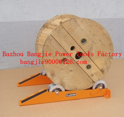 Cable drum jacks,cable drum lifting,cable handling equipment