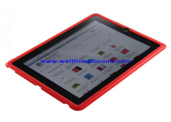 Wholesale 2012 newest creative silicone ipad case with Lego blocks design