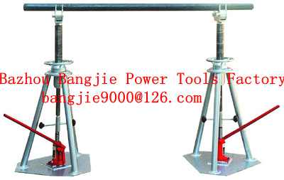 cable drum lifter stands,cable drum jacks,cable drum handling