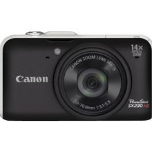 Canon PowerShot SX230 HS 12.1 MP Digital Camera (Black)