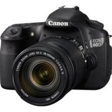 Canon EOS 60D Digital SLR Camera with EF-S 18-200mm IS lens