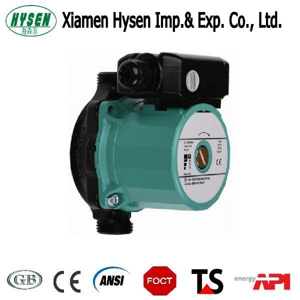Hot Water Circulation Pump Casting Iron for Solar Water Heating System