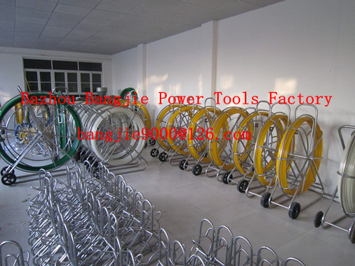 cable duct rod,conduit snakes,reel duct rodder