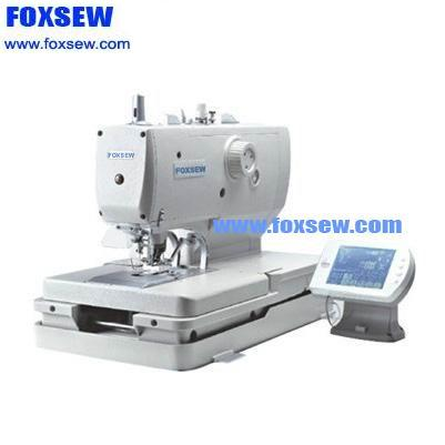 Computer Controlled Direct Drive Eyelet Button holing Sewing Machine