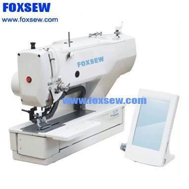 Direct-Drive Computer-controlled Lockstitch Button Holing Sewing Machine FX1790
