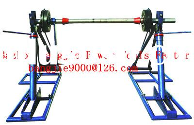 Disassemble cable drum jack,cable drum lifting,cable handling equipment