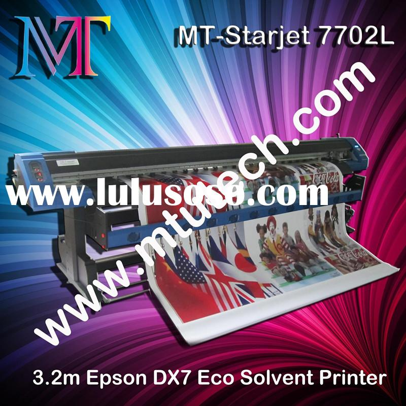 1440dpi Epson DX7 print head Eco Solvent Printer 1.8m/3.2m optional