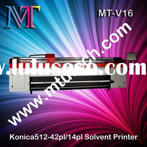 Konica Series Solvent Printer 1440dpi 3.2m Width For Outdoor
