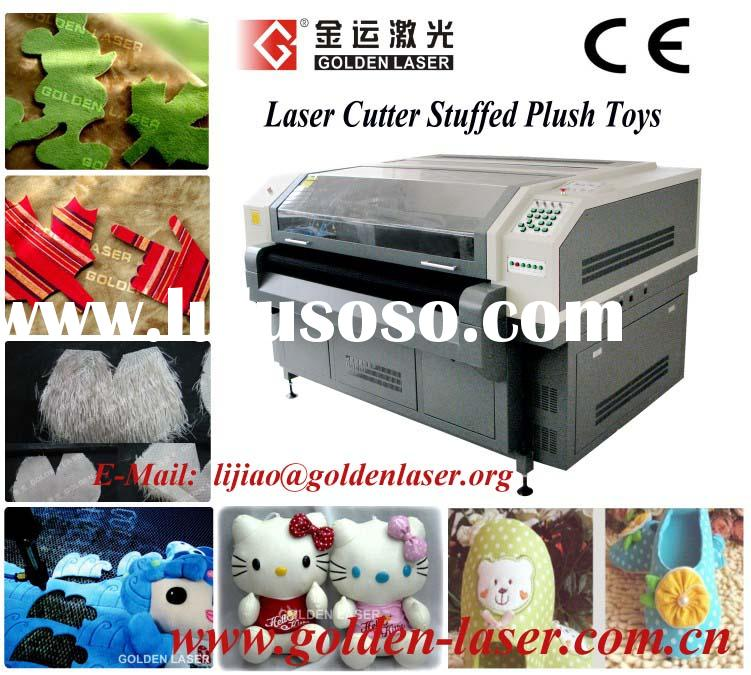 Stuffed Plush Toys Teddy Bear Cutting Machine with Laser