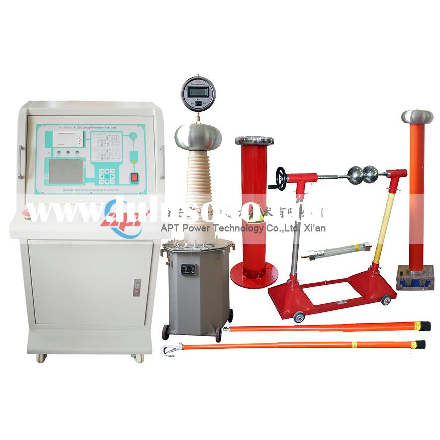 Electrical Frequency Tester : Power frequency ac voltage withstand test set for sale