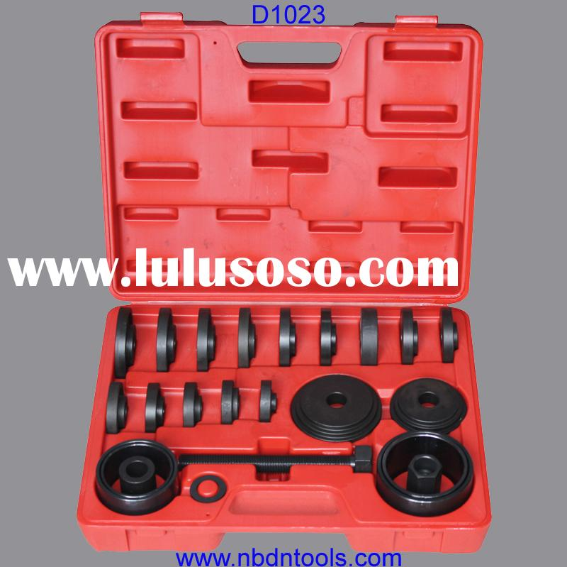 23psc front wheel bearing removal puller tool set