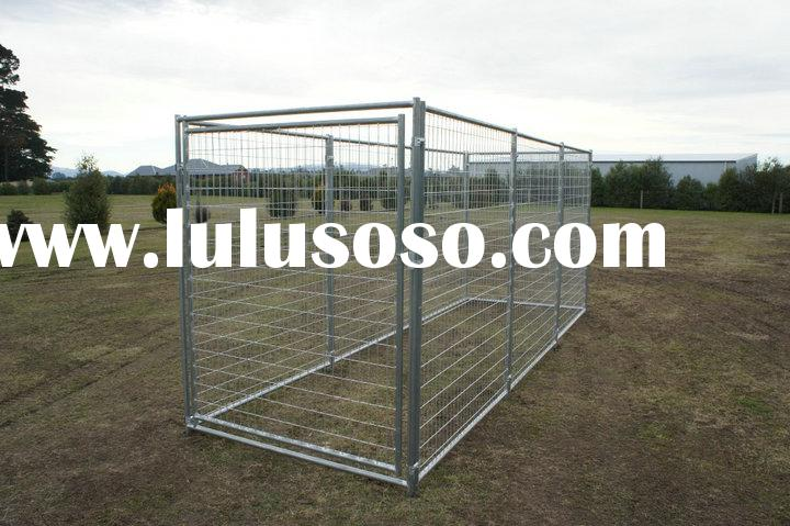 Portable Outdoor Dog Enclosures : Portable dog run or cat enclosures sheep chicken cage for
