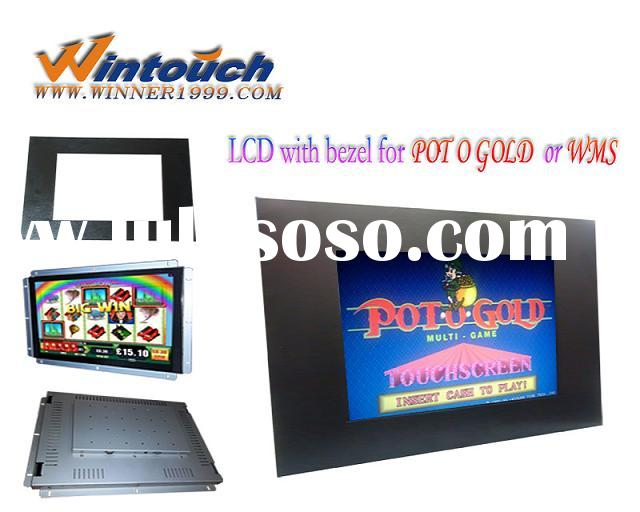 19inch(4:3) IR touch monitor with Bezel for POG/WMS gaming machines