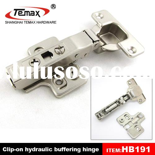 Hydraulic hinges for doors and cabinets