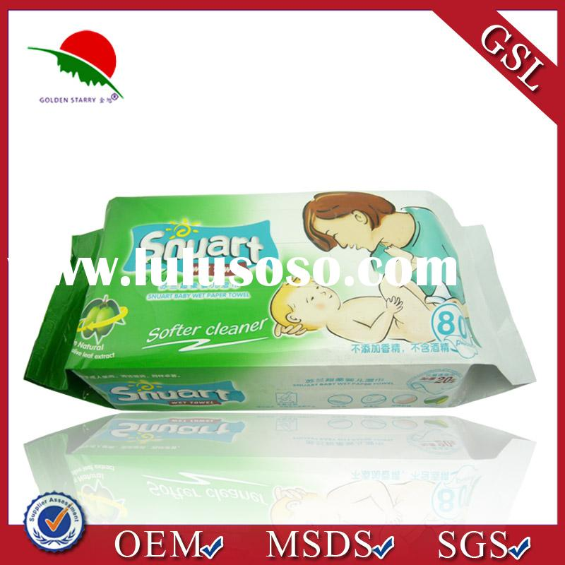 Extra soft bamboo baby wipes