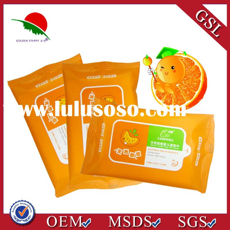 2013 New disposable baby wet wipes