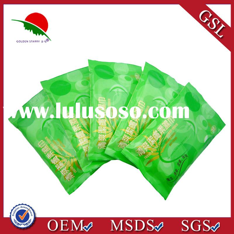 2013 Biodegradable eco-friendly wipes