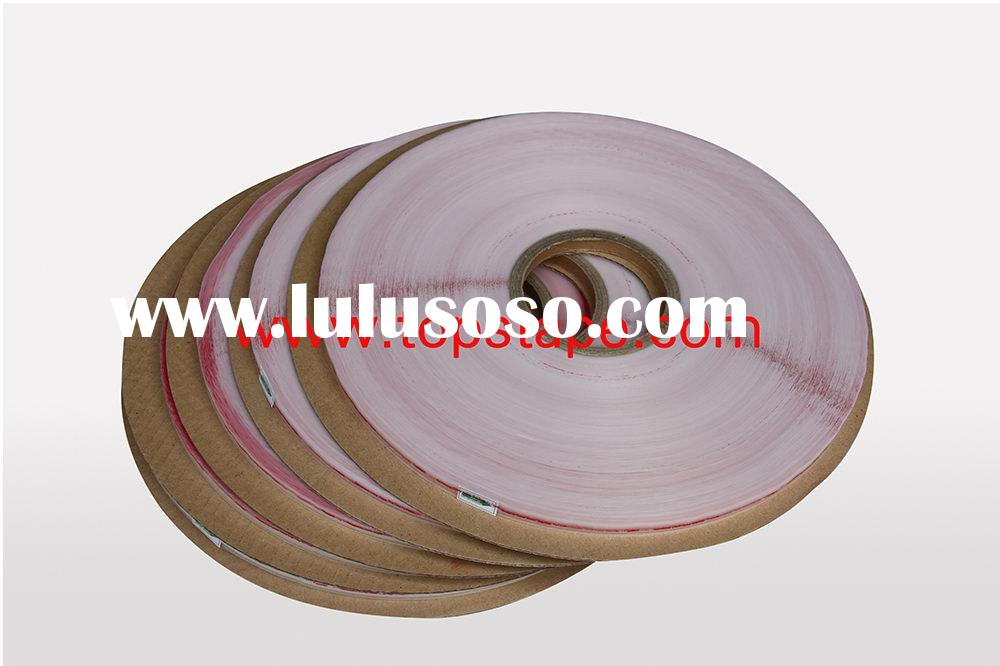red adhesive tape with pe liner