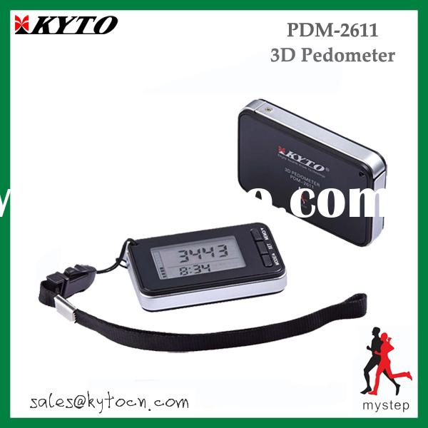 cheaper promotional  3Axis pedometer PDM-2611