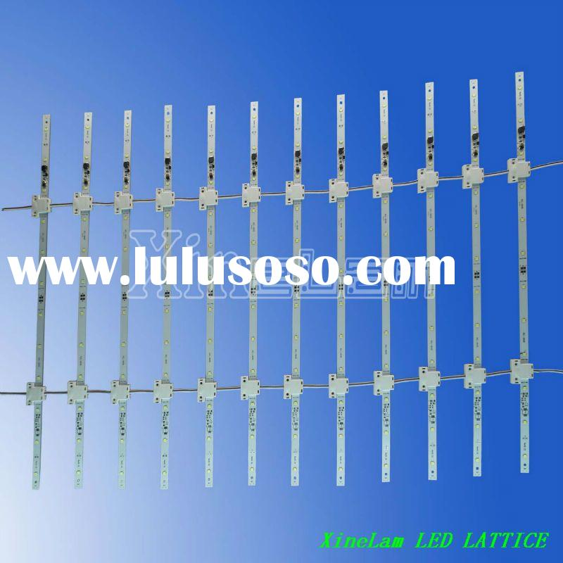 The latest and greatest design Advertising backlight LED LATTICE,cost-effective