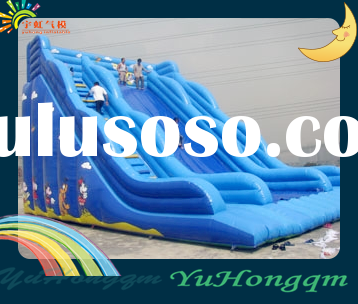 The Hot Sale Inflatable Double Slide for Kids