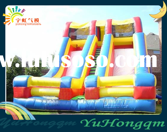 The HOT SALE Colorful Double Slide for Kids