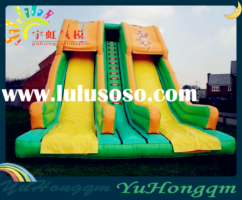 Hot Sale Inflatable Double Slide for Kids