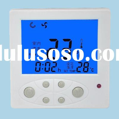 24V Digital Fan Coil Thermostat 0-10V with Feedback