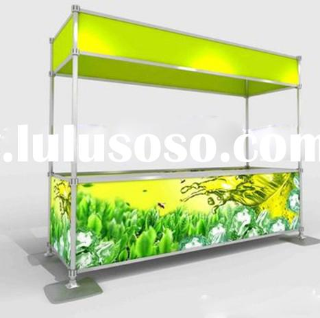 Clipping exhibit displays,Quick show stand,Portable trade show display