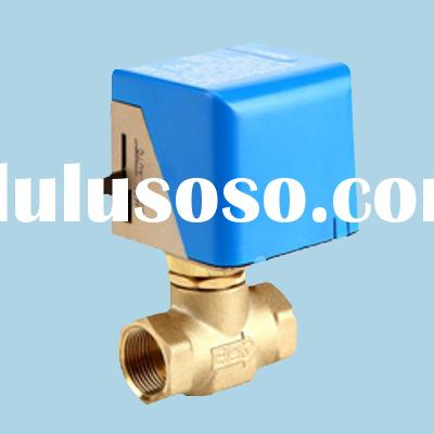 2-way Ball Valve with a Rapid Electric Actuator of 12V or 24V