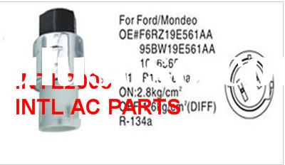 R134-a Auto AC Pressure Switch for FORD/MONDEOOE:F6RZ19E561AA;95bw19e561AA;1016565