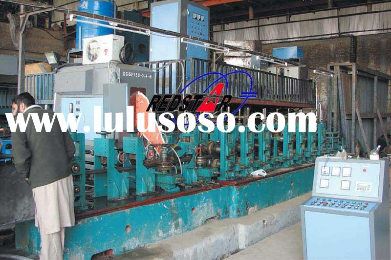 ERW carbon steel welded pipe production line,High Frequency Carbon Steel Welded Pipe Production Line