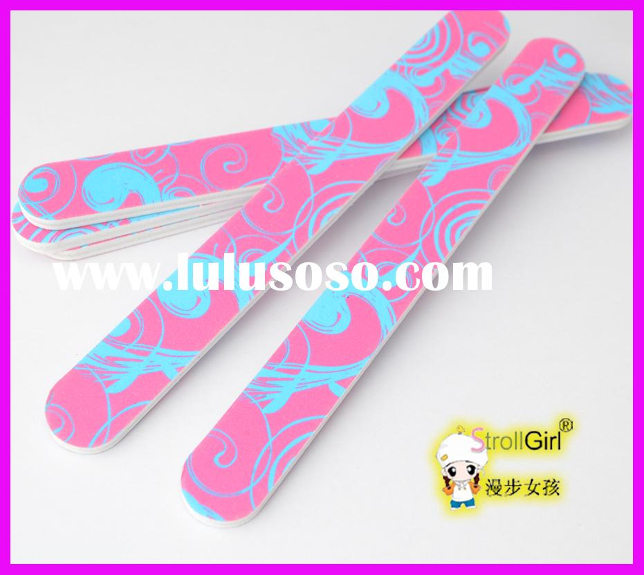 OEM printing nail file with logo customized nail file wholesale price
