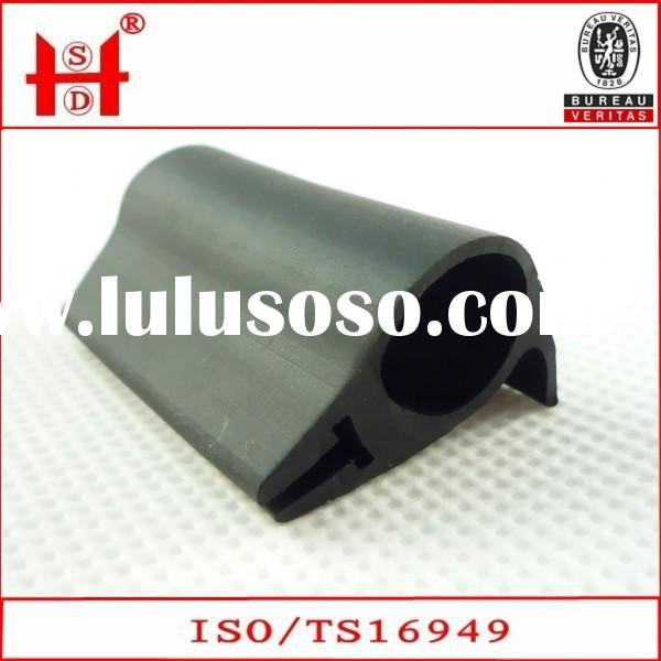 EPDM black High performance car window rubber seals
