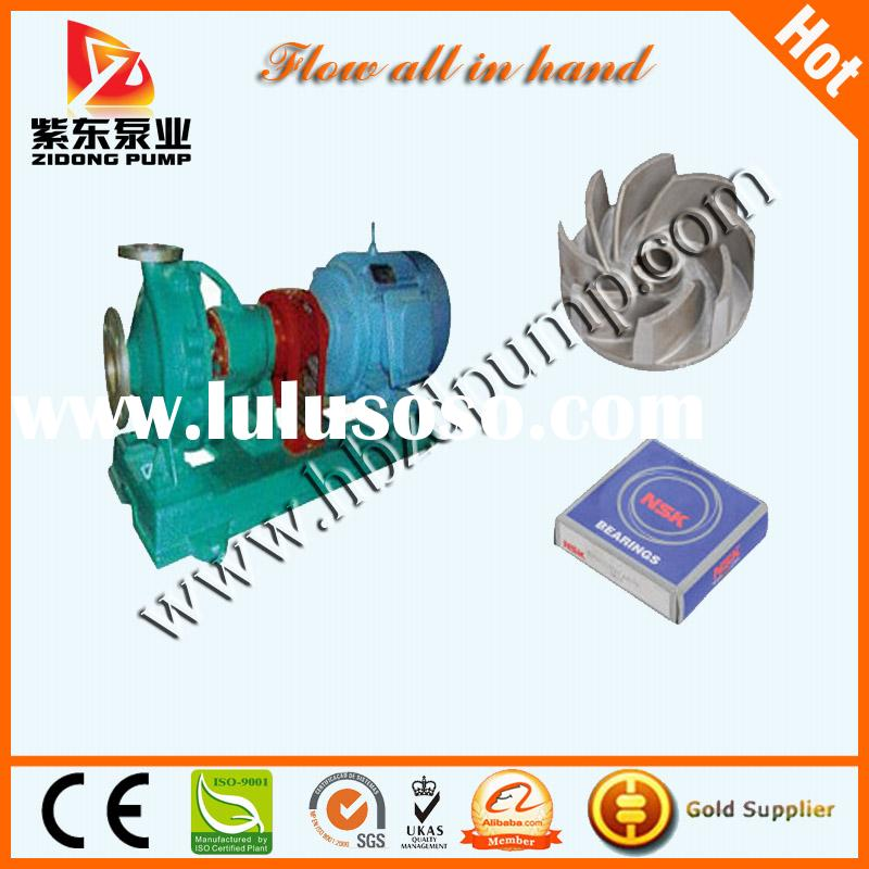 anti corrosion centrifugal open impeller chemical pump