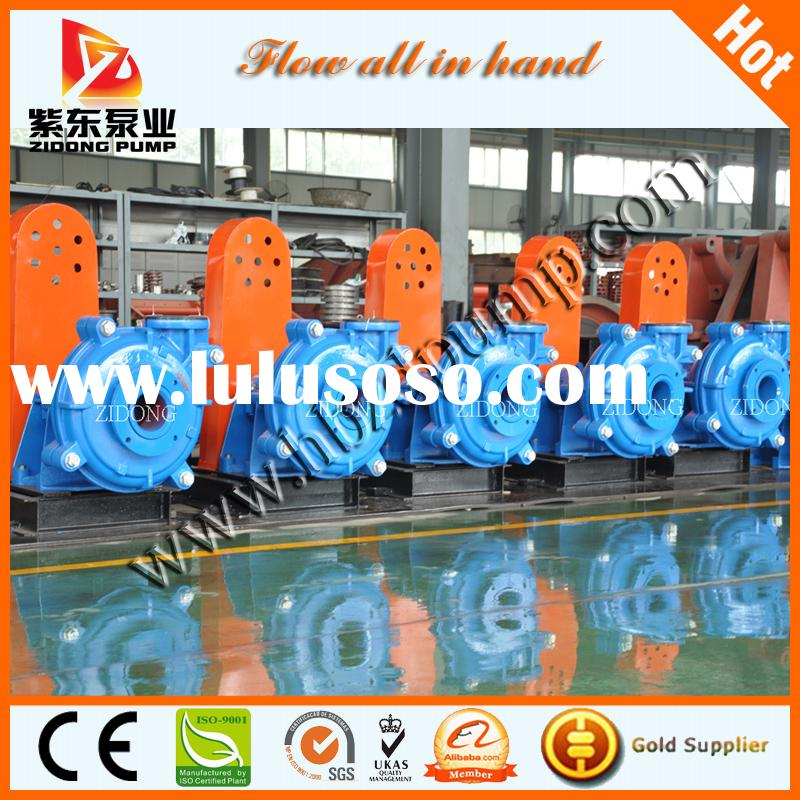 supply high quality Warman equivalent slurry pump AH/HH series