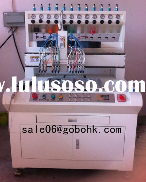 debossed and embossed soft silicone bracelet making machine
