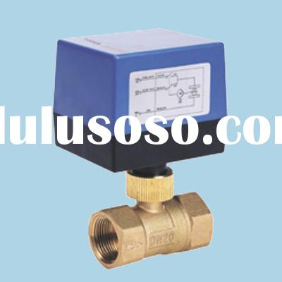 HVAC Electric Ball Valve for Automatic Control