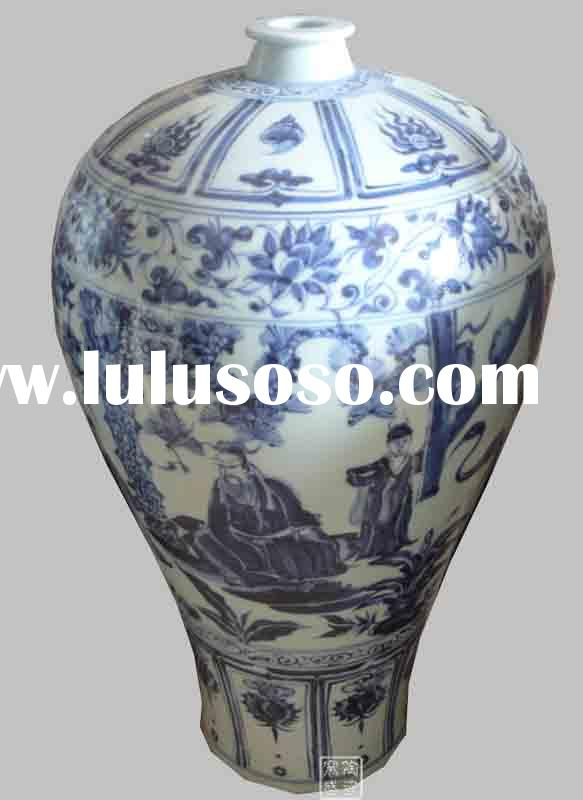 Wholesale Antique Chinese Blue and White Porcelain Vases
