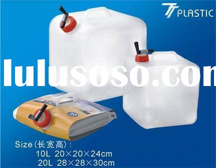 Food Grade 8L/10L/15L/20L Plastic Foldable/collapsible Water Container Factory manufacture