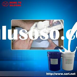 Transparent silicon rubber for jewellery casting