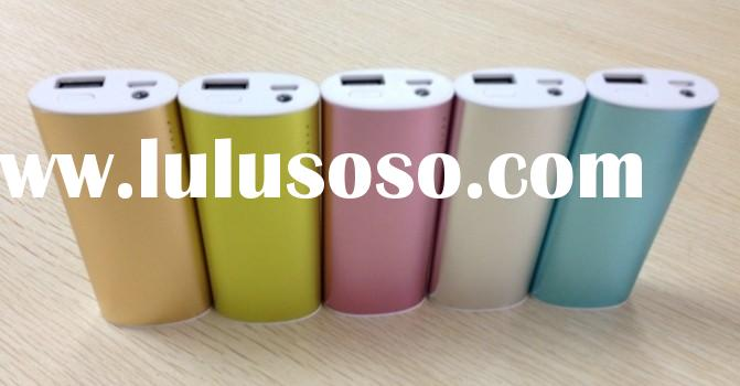 Emergency universal portable power bank 5200 for smartphone iphone samsung